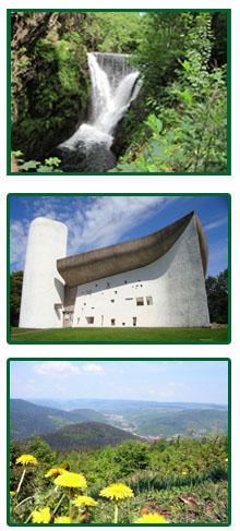 Le Creux Kapelle Le Corbusier Vogesen