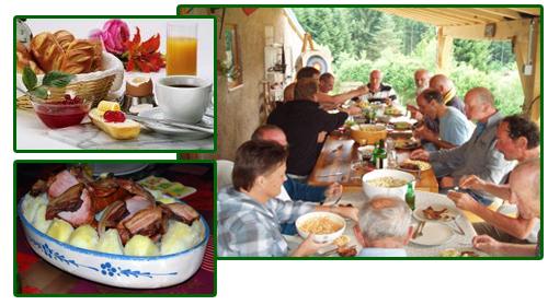 Le Creux table d'hôtes Vosges