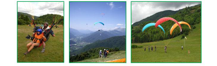 Le Creux gites camping paragliding Vogezen