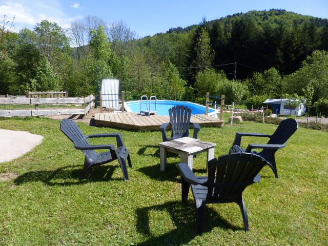 Le Creux gites camping motor zwembad Vogezen