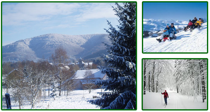 Le Creux gites wintersport Vosges