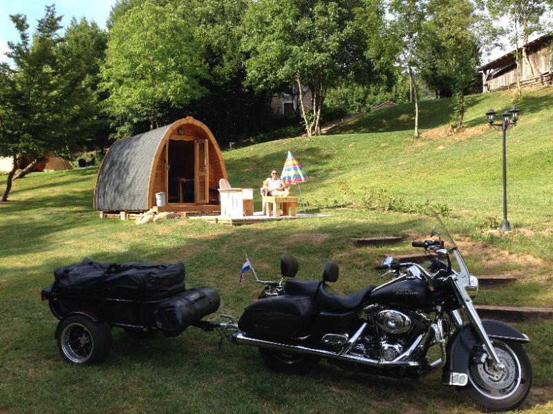 Le Creux gites camping Pod motor Vogezen