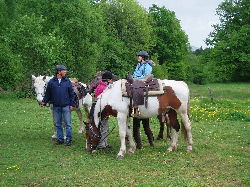 Le Creux paardrijden Vogezen