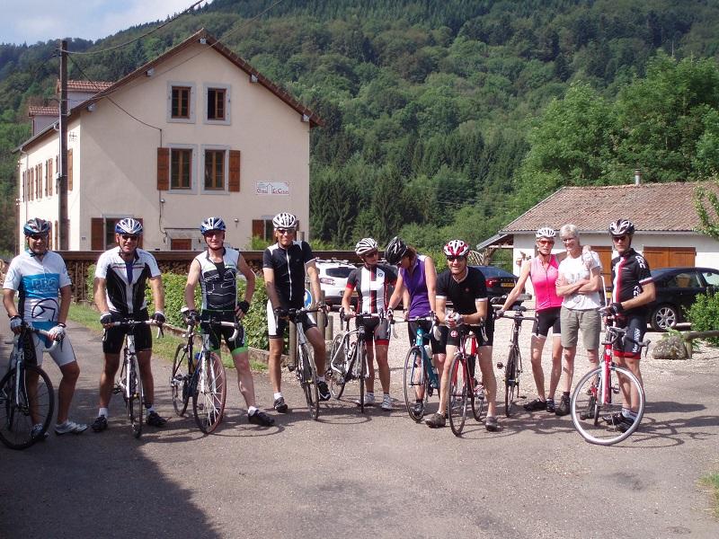 Le Creux fietsen Vogezen