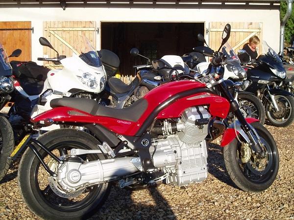 motor rijden Le Creux zuid Vogezen